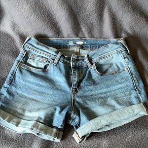 Jean shorts light denim